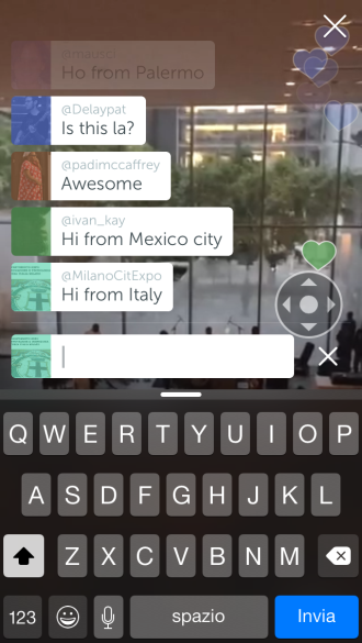 Chat live demo