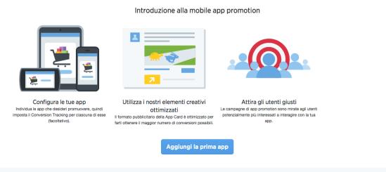 Conversione su app mobile per monitoraggio